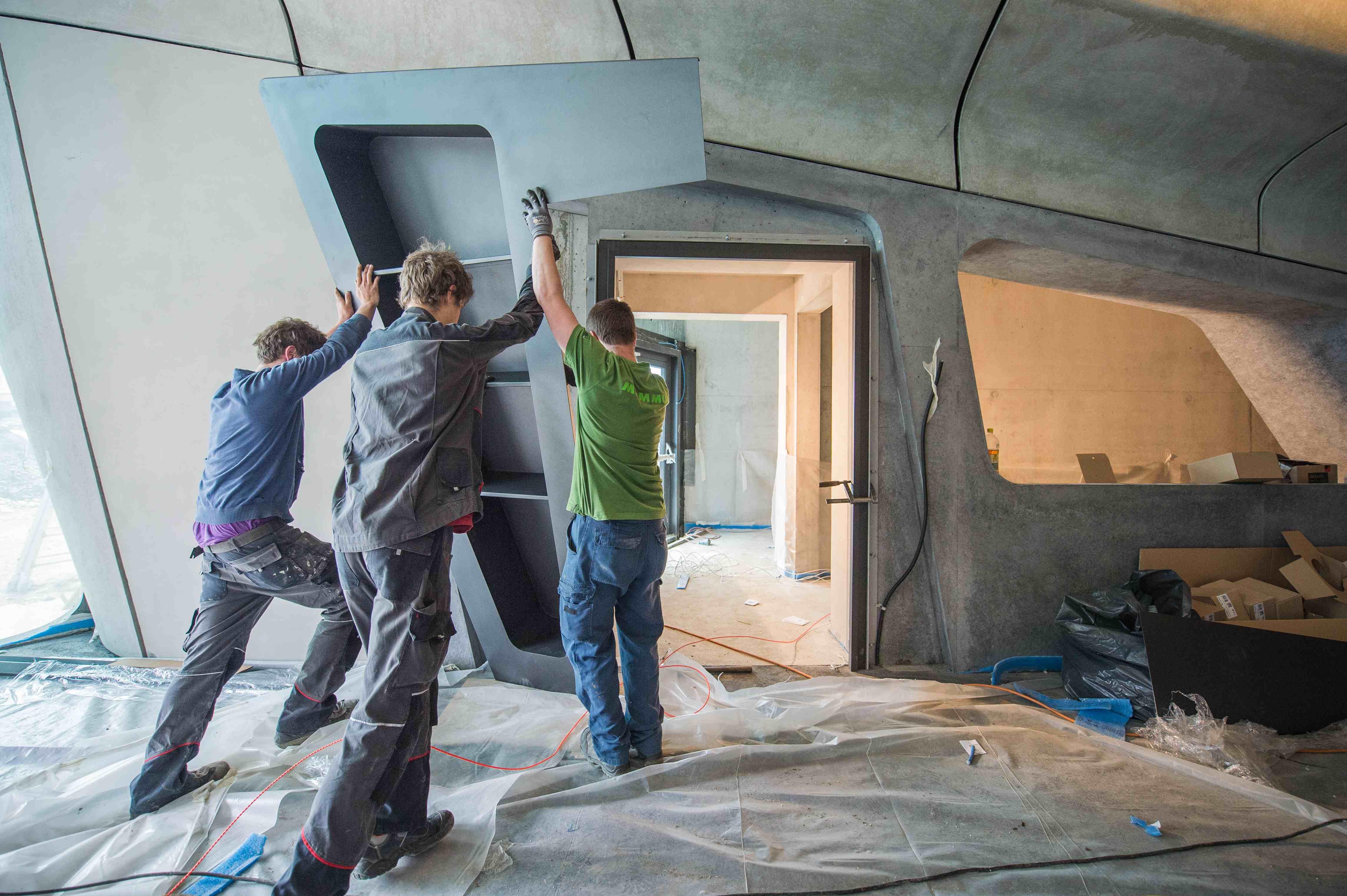 Tekneco porte rubner per il nuovo museo della montagna for Rubner porte