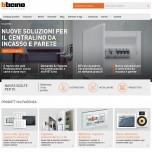 BTicino Professionisti_homepage